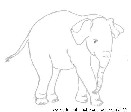 free templates baby elephant baby elephant drawing templates
