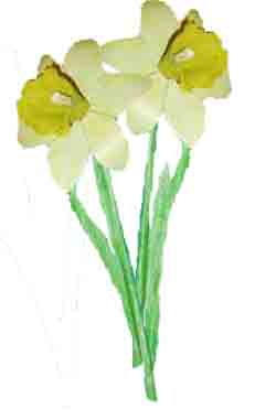 Spring Daffodil. How to make a model Daffodil-How to make an Easter daffodil-spring crafts-Easter crafts
