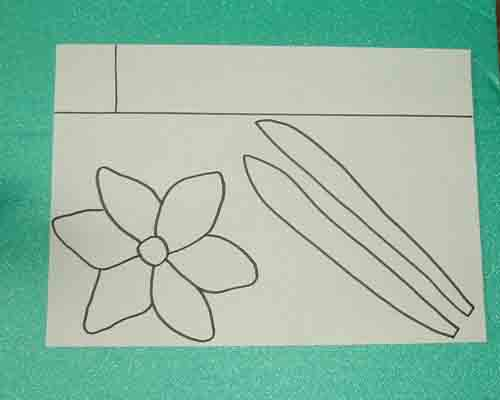 How to make a model daffodil how to make a easter daffodil for Template of a daffodil