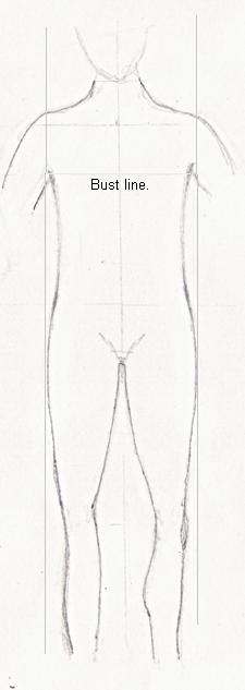 The Banana/rectangle shaped figure body outline