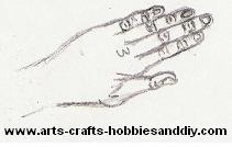 how to draw hands 7