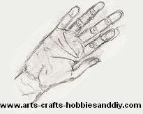 How to draw hands 8