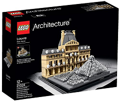 Lego 21024. Architecture Louvre Building set