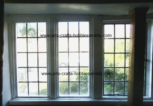 Secondary glazed leaded light windows