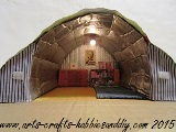 How to make a WWII Anderson Shelter