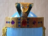 How to make an Egyptian crown as worn by Queen Cleopatra
