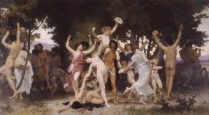 La jeunesse de Bacchus. Youth of Bacchus (c1884)