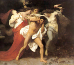 Orestos pursued by the furies (c1862)