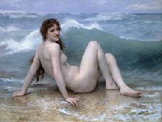 La vague. (c1896) The wave.